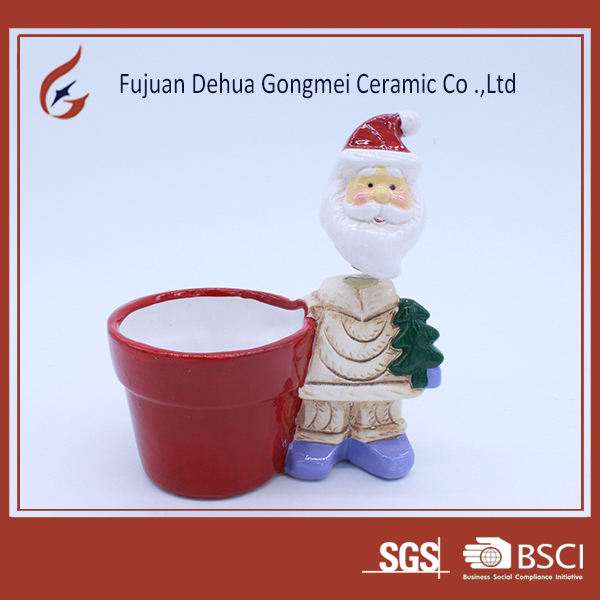 home goods flower pots modern desgin ceramic christmas