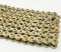 525 X 120 Heavy Duty Gold Drive Chain Street Bike Motorcycle With Master Link