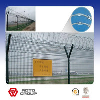 High strength and security wire mesh Jail fence