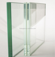 Whole sale low 8.76mm 12.76mm 19+1.9+19mm Ultra white glass tempered glass laminated glass