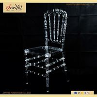 Factory Directly Elegant Clear Knock Down Napoleon Chair