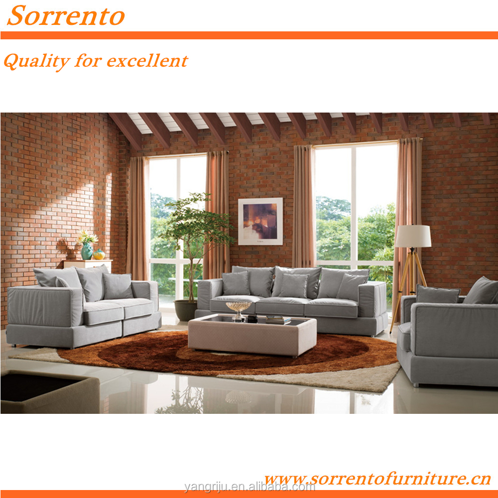french provincial contemporary fabric sofa for warmth home furnishings SORRENTO 578A#