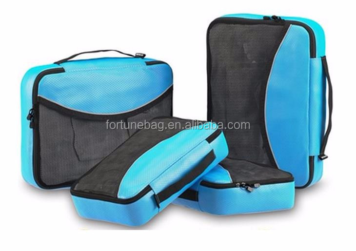 China Manufacturer Travel Luggage promotional travel packing cubes wholesale