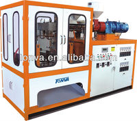 blow molding machine, four station two head,connector injection