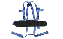 CE Standard EN361 blue Construction climbing Safety Belts Full Body Safety Harness
