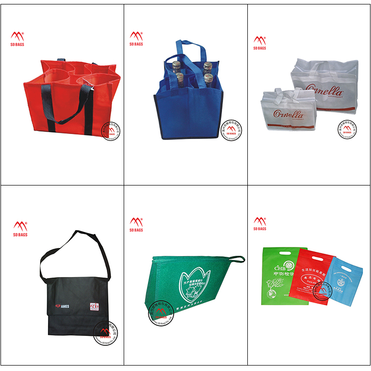 Chinese wholesale suppliers non woven bag jute woven shopping bag