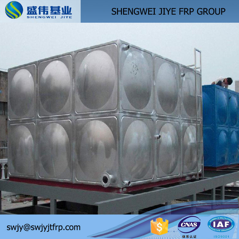 Assemble Stainless Steel Water Heater Tank Concrete Mixer Water Tank
