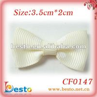 Wholesale cheap handmade beige ribbon bow for Christmas gift box