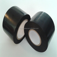 Black vinyl air conditioner pipe wrapping tape