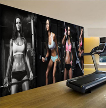 Custom Printing High Quality Waterproof Fitness Center Exterior Wall Murals