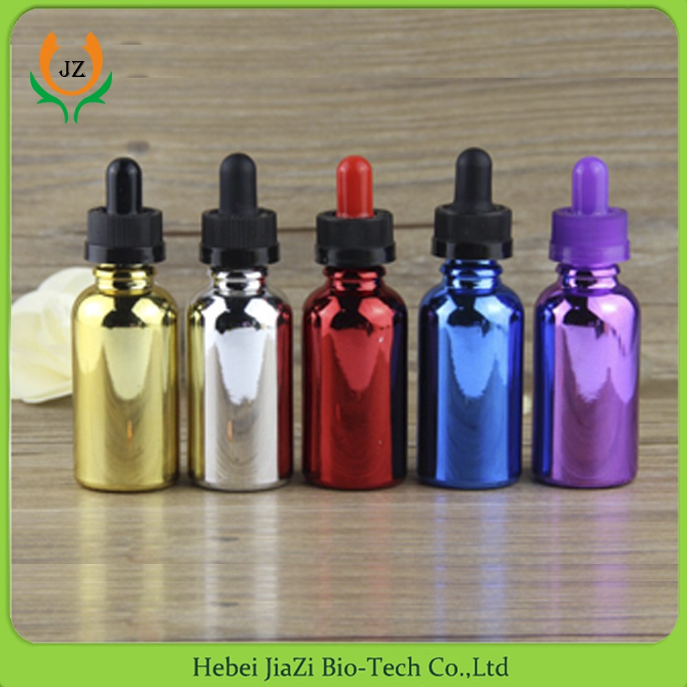 personal care white amber blue green 60ml e-liquid dropper bottle