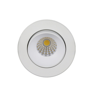 Shenzhen factory new model cut out 83mm COB LED 7W Dim to warm downlight