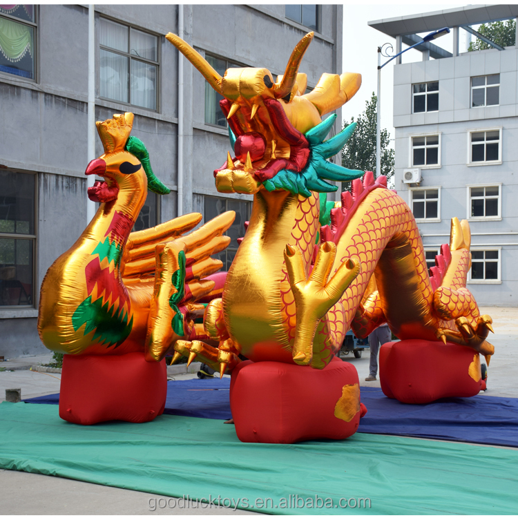 replica decoration display giant inflatable dragon animal model ,cheap inflatable dragon for sale