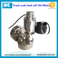 compression force sensors 20 ton weighing load cell