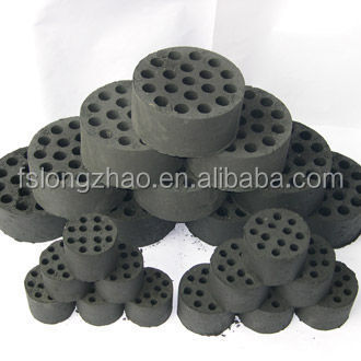 Alveolate Charcoal Brick For Barbecue