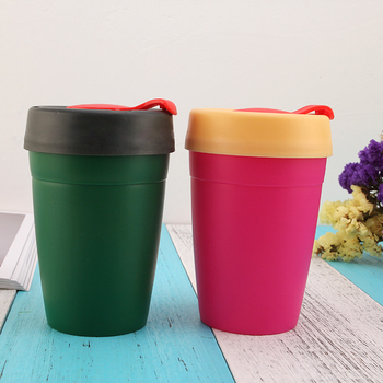 Shenzhen wholesale 12oz food grade single wall plastic PP coffee cups for promotion