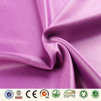 Custom blend dyed print pvc coated polyester fabric for clothing