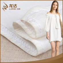 Longda Manufacture free sample breathable blended linen cushion cover fabric