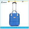 Colorful new style travel trolley bags with wheels apply to Activity gift sky blue travel trolley bags