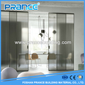 Modern three panel aluminum sliding glass door Malaysia price