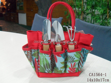 600D polyester garden tools tote bag