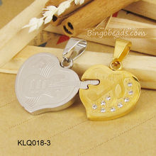 Hand Stamped Steel Love Heart Guitar KeyChain Set Pendant Couples Engagement Custom Wedding Date
