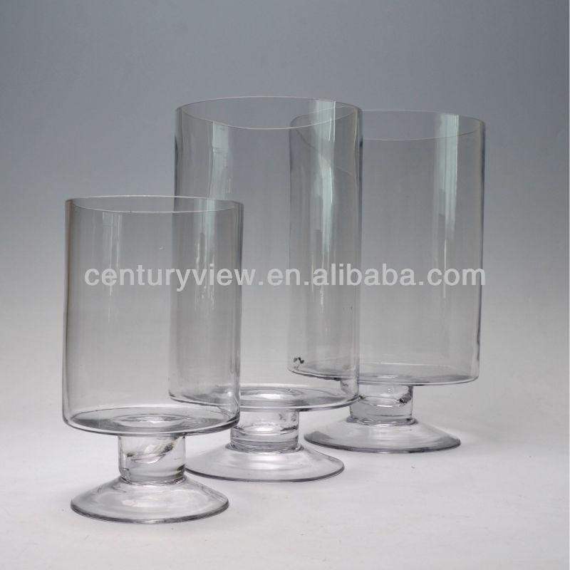 forma de copa de vino de vidrio decorativo gran jarrn de flores buy product on alibabacom