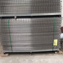 stainless steel welded wire mesh fence panel
