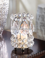 Hot wholesale candle glass holders for wedding and party table decorations/candle holders made in india/