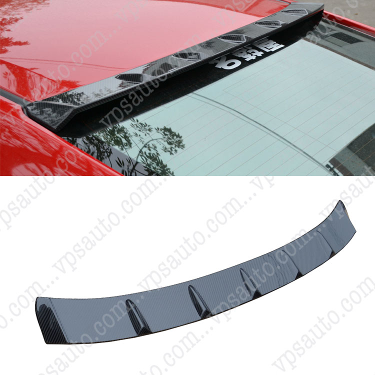Hot Sell For Honda Civc 10th Wing Carbon Fiber Roof Spoiler