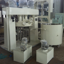 High Quality Vacuum Dual-shaft Hydraulic Lifting Disperser Dissolver Paint Mixing Machine/computer paint mixing machine