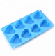 DIY heart shaped silicone mould chocolate mould food grade silicone parts injection