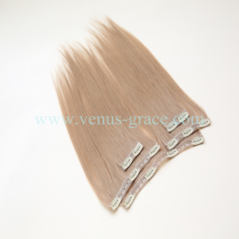 Qingdao Factory Virgin Cuticles New Clips In Human Hair Extension