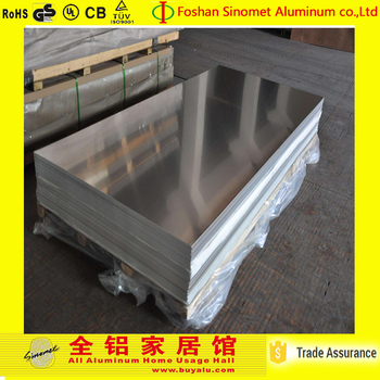 Aluminum customized alloy plate 2017 hot sale