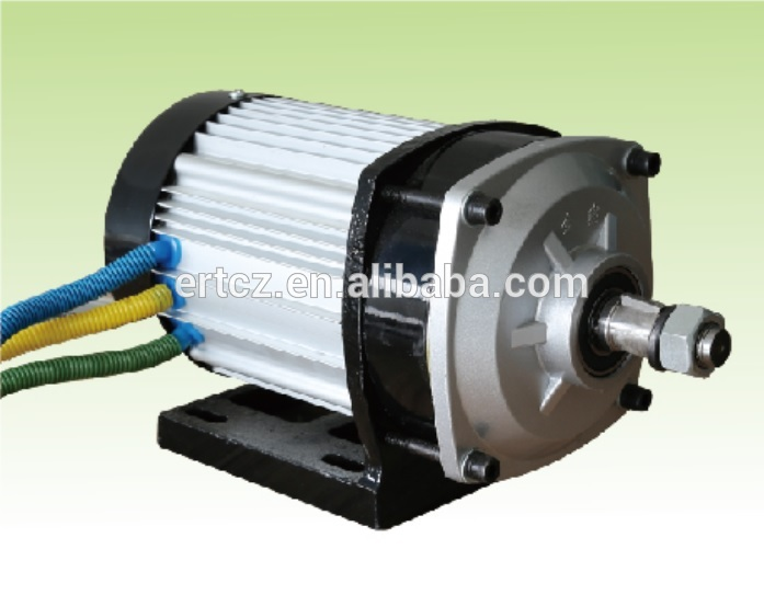 72v 1000w electric car brushless dc motor