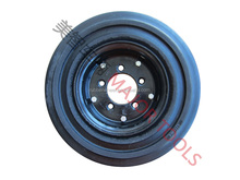 industrial tire for forklift trucks/solid rubber wheel 16X4.00-8