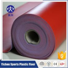 Easy-Clean Anti-Slip PVC Vinyl Sport Flooring In Roll