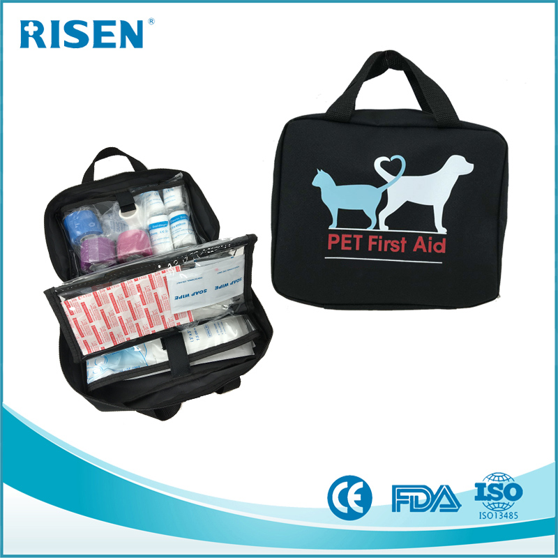 full stocked compact first aid kit for animal pet,dog,horse,cat