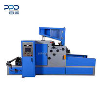 Automatic silicon paper rewinding machine