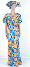 African brocade caftan dress/attire