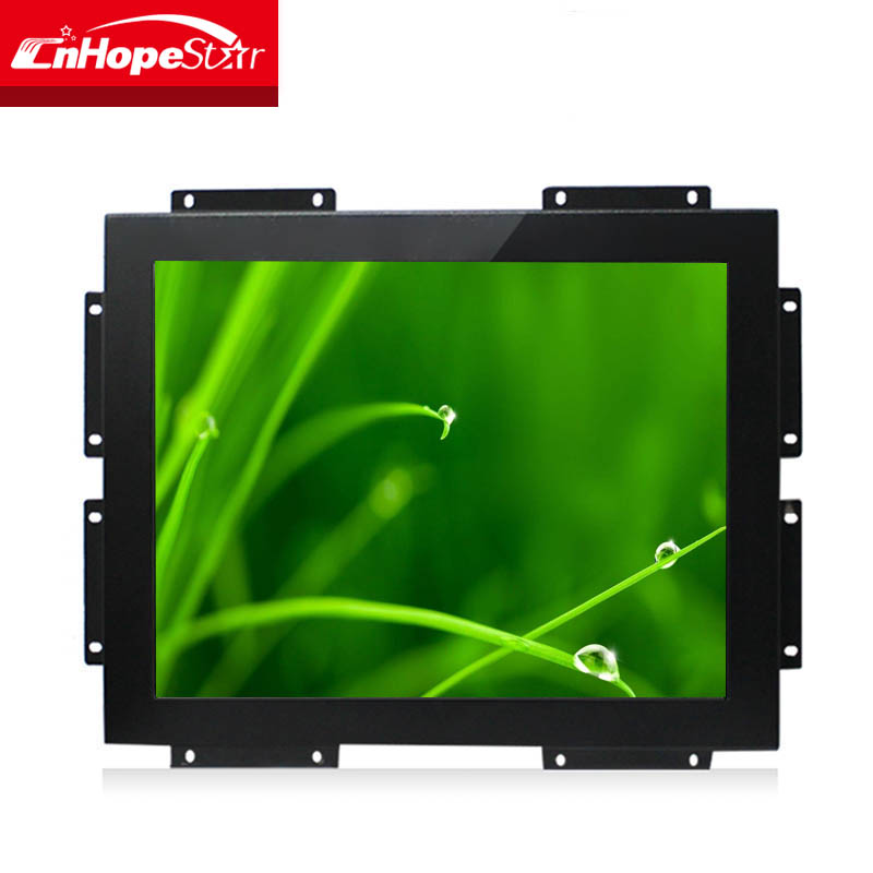 "Cheap Multitouch Screen Monitor 15"" Frameless Kiosk LCD Touch Screen Monitor"
