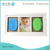 2016 baby picture frame cheap custom 3d wood photo frame