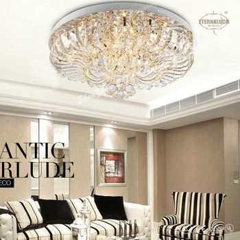 Fancy famous home crystal modern ceiling lights for bedroom ETL60037