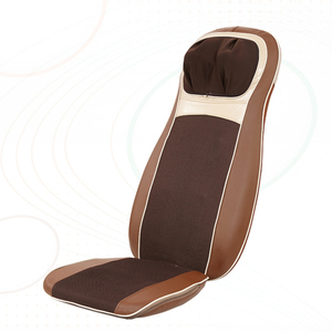 LY-712A Vibrating heated auto shiatsu back massage cushion for chair and car