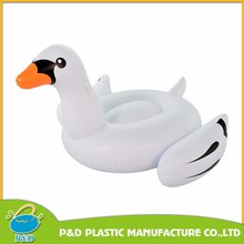 Hot selling inflatable giant swan/ inflatable white swan pool float / inflatable white swan rider