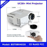UC28+ Mini Projector,NO.638 low price pocket projector for home theatre