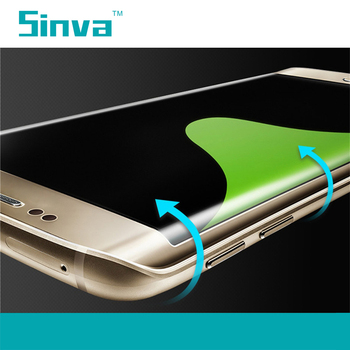Sinva factory New Arrival Full cover 3d curved Low price full body tempered glass screen protector for Samsung s6