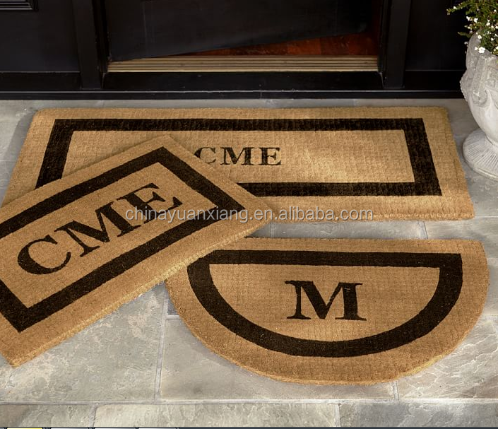 Coir Coconut Coco Fiber Natural Mohawk Hemp Door Mats
