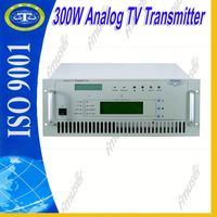 300W Professional TV stations equipment TV transmitter equipment free internet radio broadcasting UHF/VHF A2