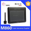 Ugee M860 graphics tablet with free stylus pen
